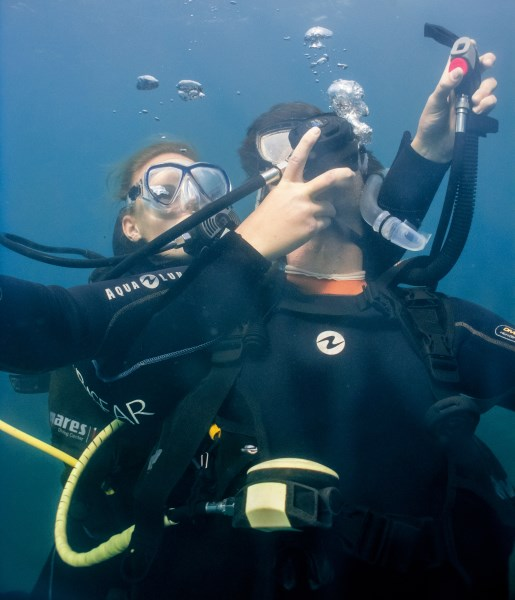 Diving Tenerife rescue Diver